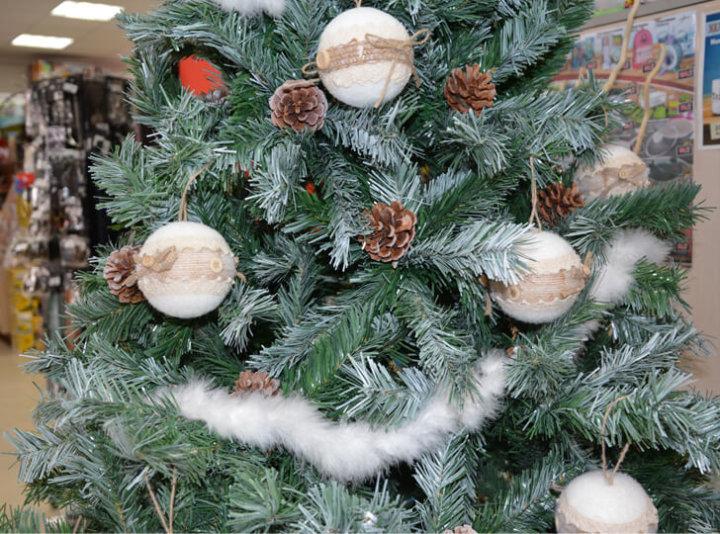 Umjetne božićne jelke