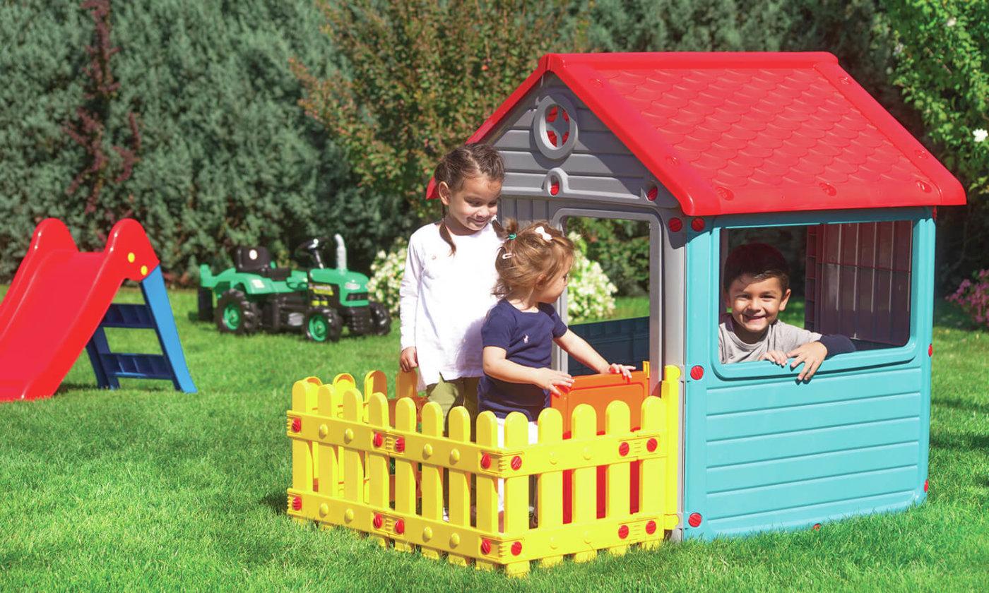 Velike plastične otroške hiške za igro