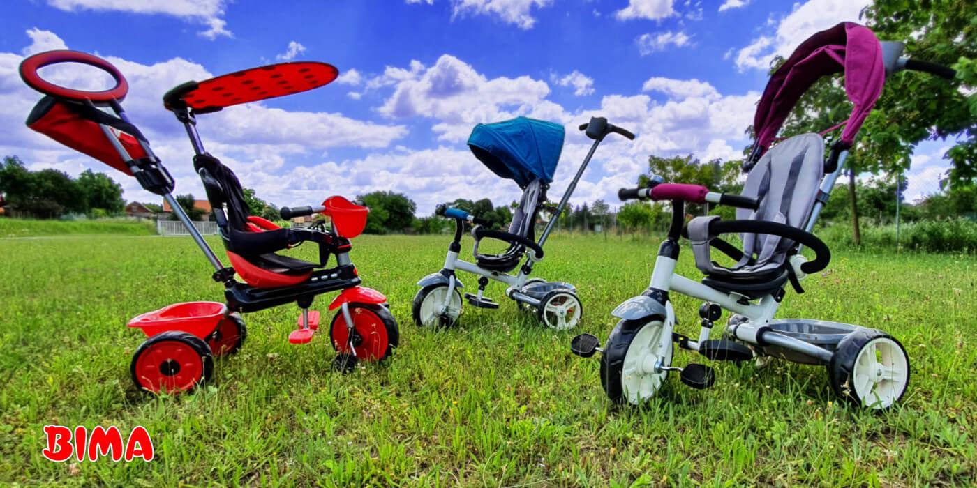 Zakaj bi otroku kupili tricikel?